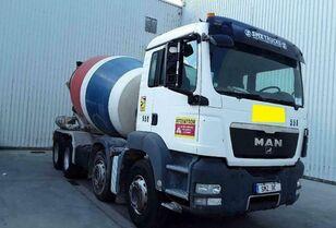 MAN TGS 32.360 8x4 concrete mixer truck