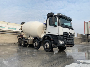 Stetter 2017 on chassis MERCEDES-BENZ 2017 MODEL AROCS EURO-6 CONCRETE MIXER 12 PIECES READY concrete mixer truck