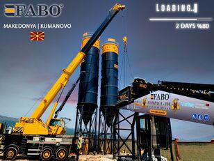 new FABO MIX COMPACT-110 CONCRETE PLANT   CONVEYOR TYPE concrete plant