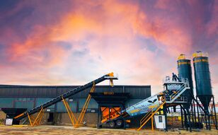 new FABO TURBOMIX-100 Cерия Mобильных бетонных установок concrete plant