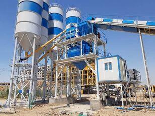 new Plusmix 130 m³/hour СТАЦИОНАРНЫЙ БЕТОННЫЙ ЗАВОД  - Stat concrete plant