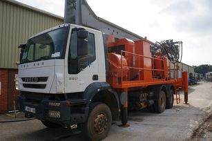 DANDO Watertec 40 1,000m depth supplied with service truck drilling rig