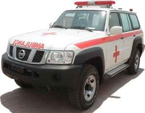 new NISSAN Patrol 4.0 XE AT ambulance