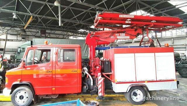 MERCEDES-BENZ 814 DHL ATLAS RAIL ROAD RAILWAY ZWEIWEG fire truck