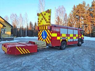 SCANIA P-380 4x2WD bumper fire truck fire truck