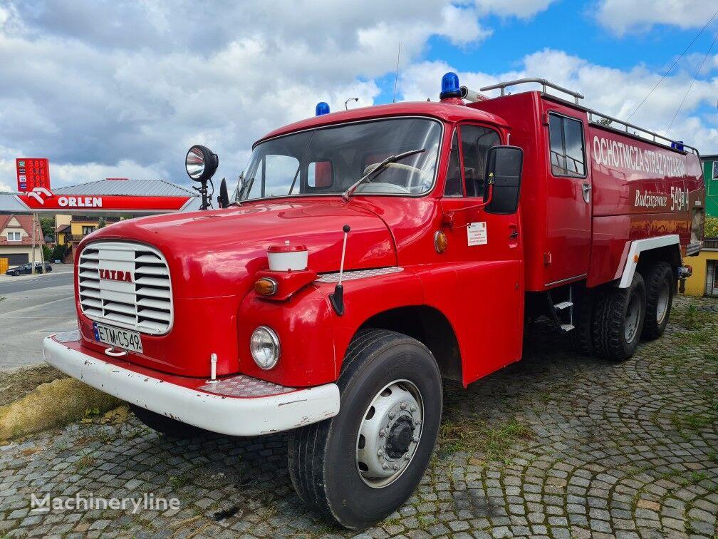 TATRA Tatra 148 Straż pożarna fire truck