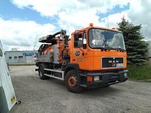 MAN 19 322 sewer jetter truck